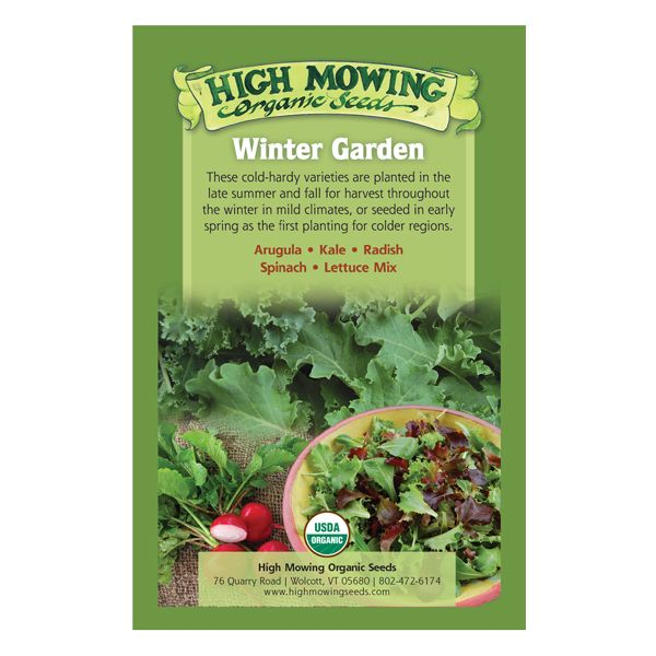 Winter Garden Organic Seed Collection