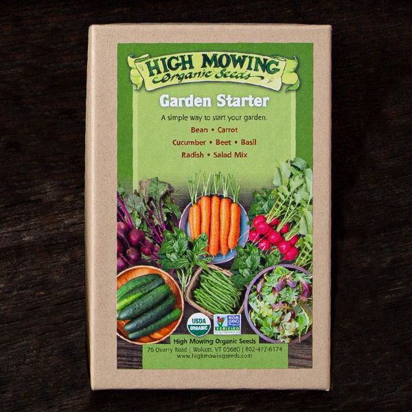 Garden Starter Organic Seed Collection