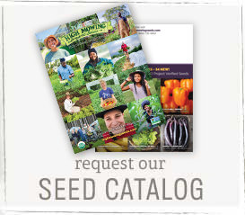 Get Our Organic Non-GMO Seed Catalog!