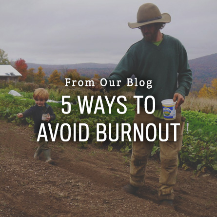 5 Ways to Avoid Burnout from High Mowing Organic Seeds blog