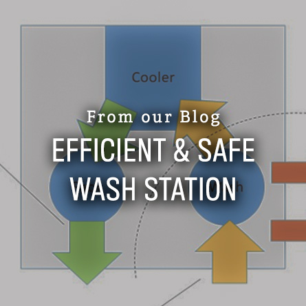 Efficient and Safe Wash Station from High Mowing Organic Seeds blog