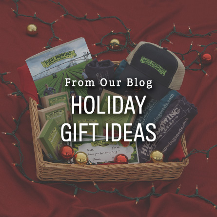 Organic Non-GMO Holiday Gift Ideas from High Mowing Organic Seeds blog