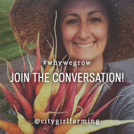Join the Conversation #WhyWeGrow
