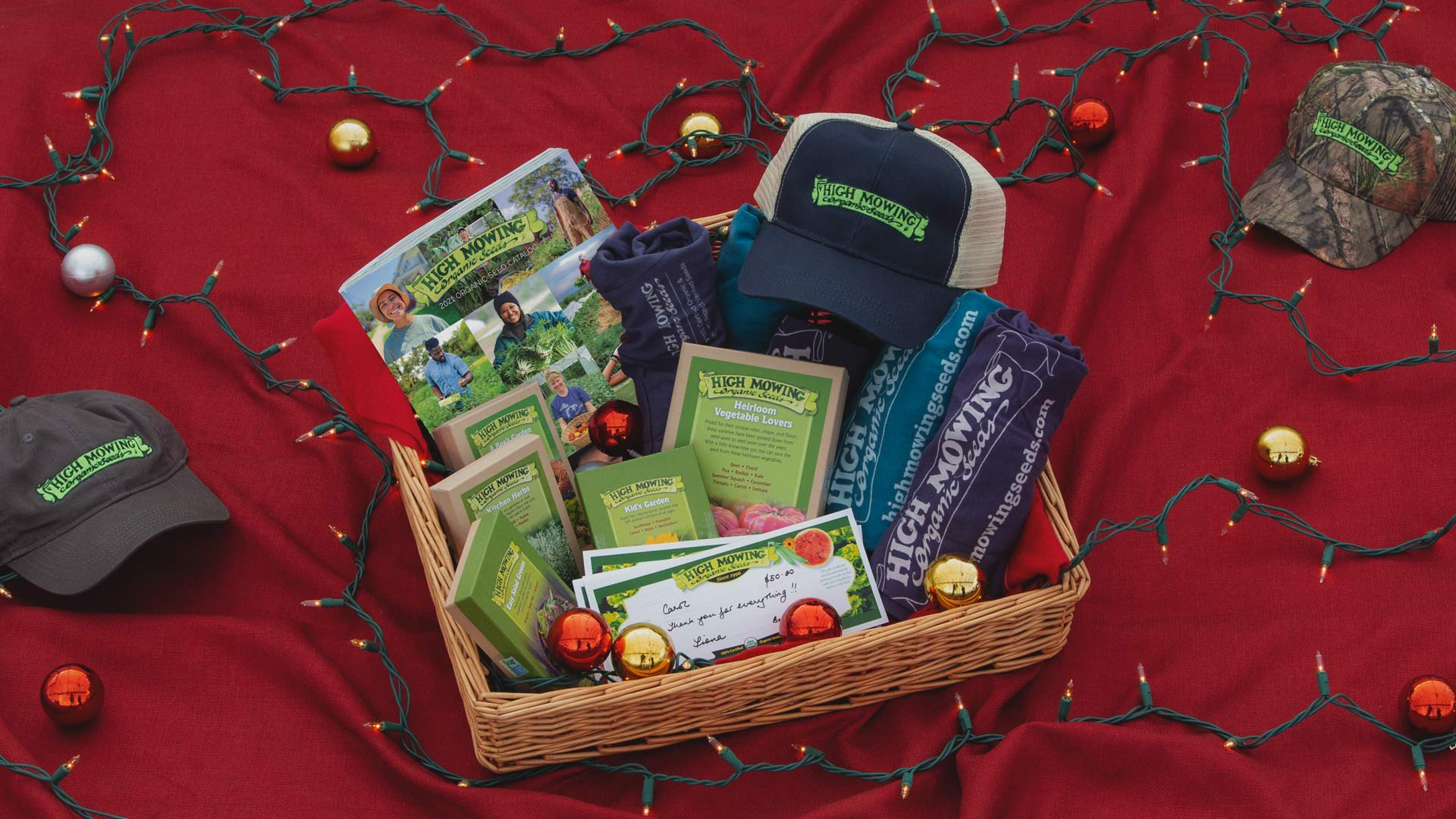 Give the Gift of Organic Non-GMO Seeds from High Mowing Organic Seeds