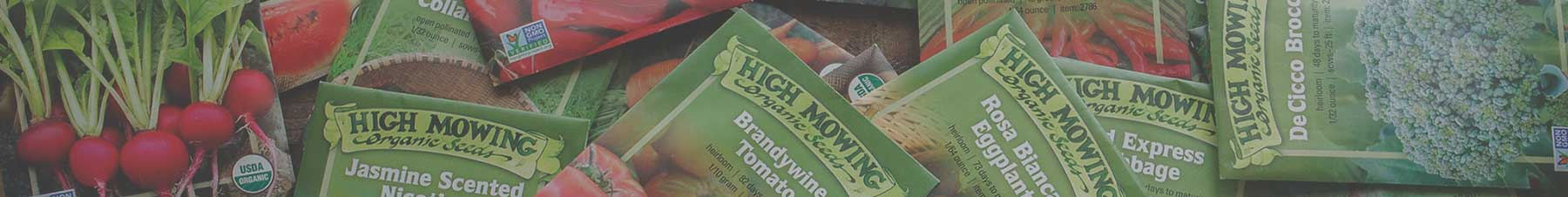 Organic Non-GMO Seed Packets for Wholesalers