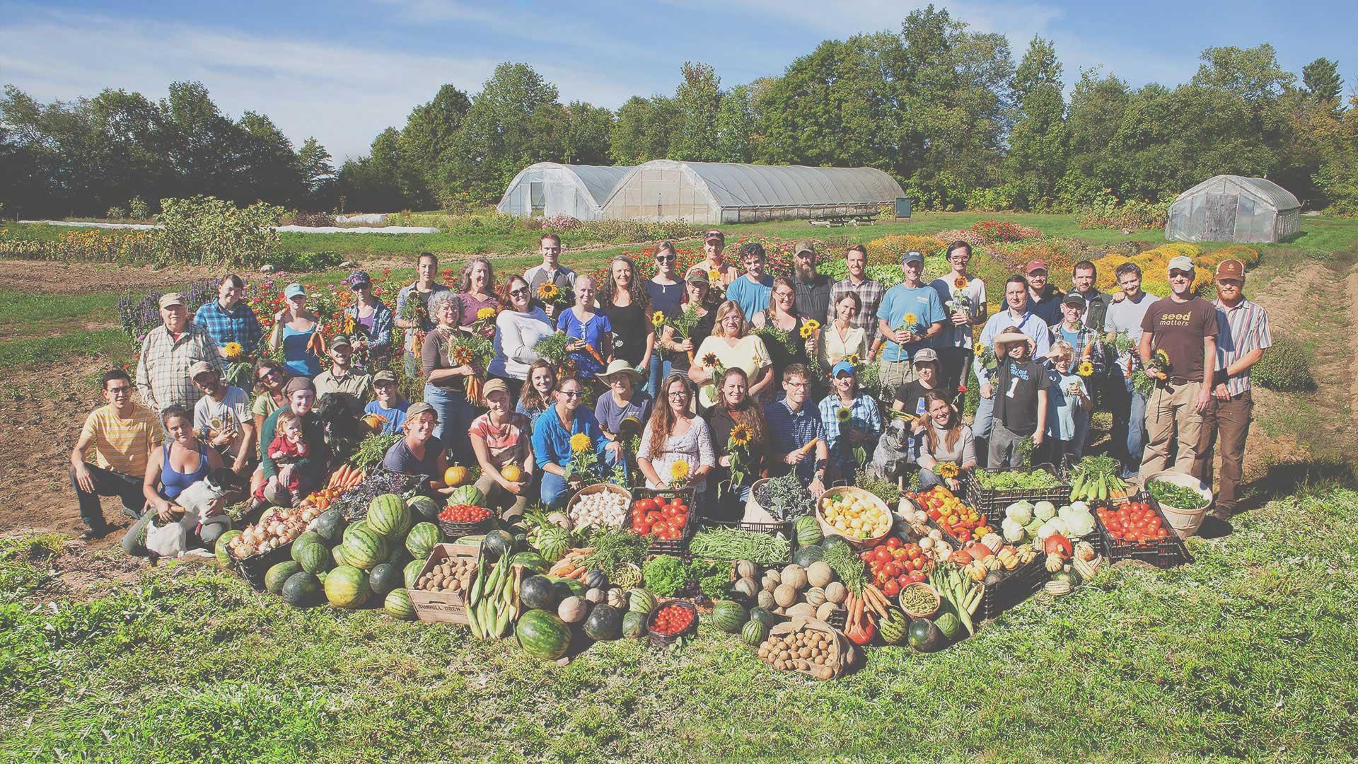 High Mowing Organic Seeds staff
