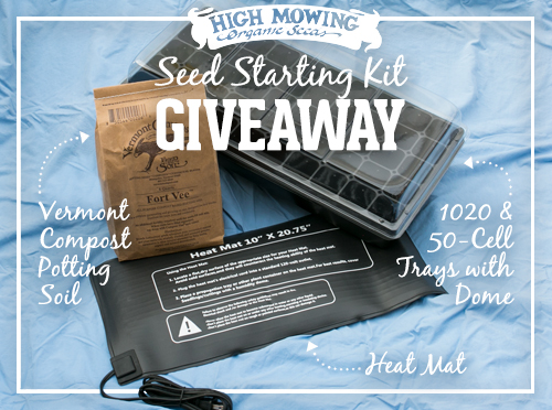 help your plants beat the cold with a seedling heat mat and our seed starting kit this monthu0027s giveaway includes a heat mat from supply for