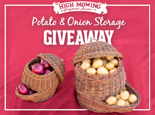 Enter To Win These Handy Storage Containers. This Monthu0027s Giveaway Will  Give One Lucky Winner An Attractive And Efficient Storage System For Onions  And ...